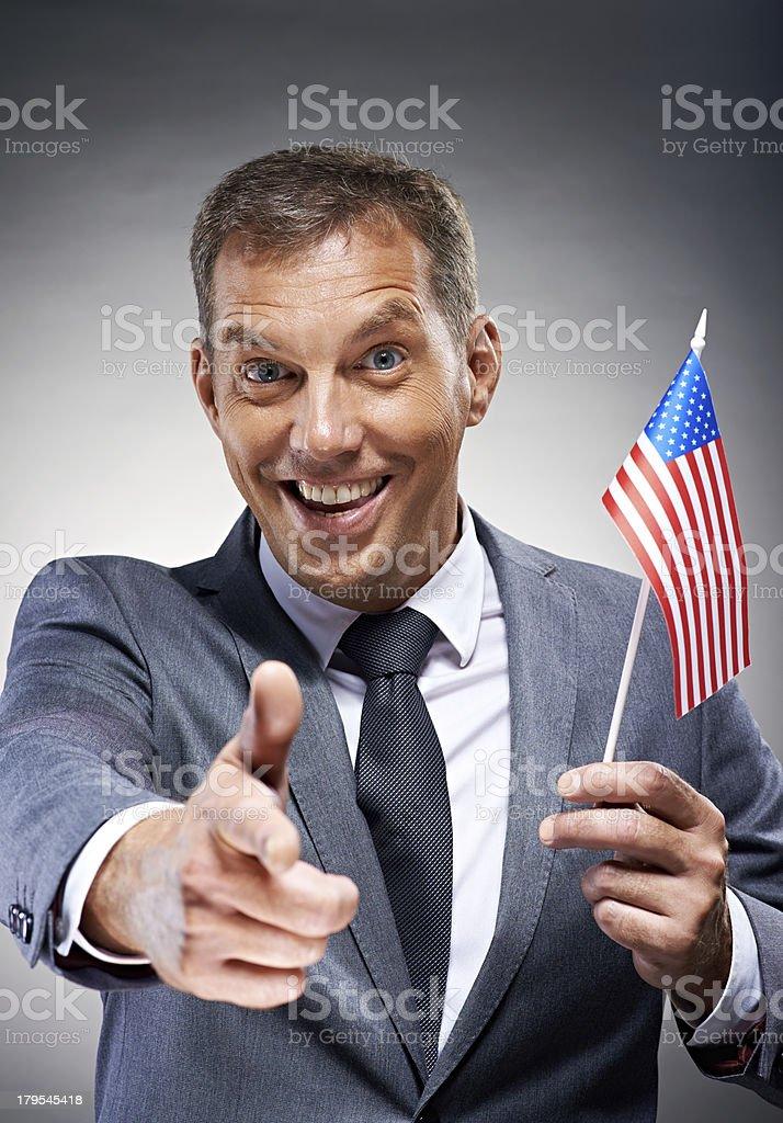 USA needs you! royalty-free stock photo