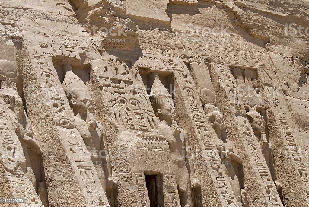 Nefertari royalty-free stock photo