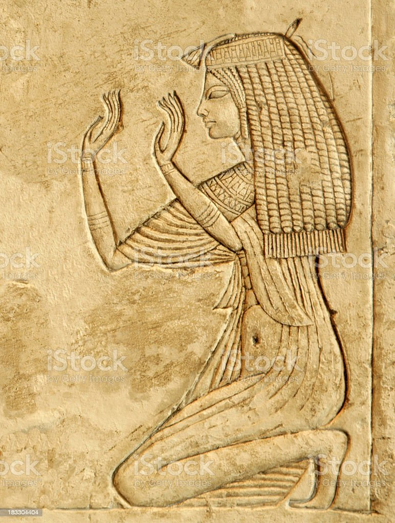 Nefertari royalty-free stock photo