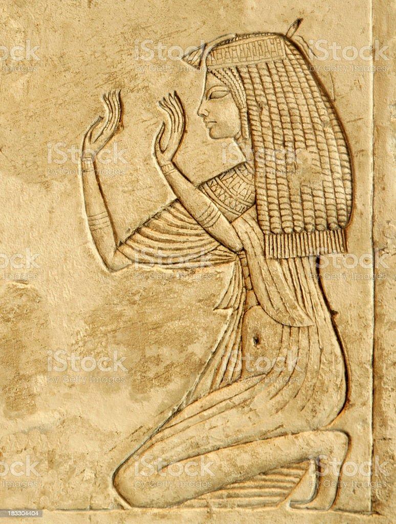 Nefertari stock photo