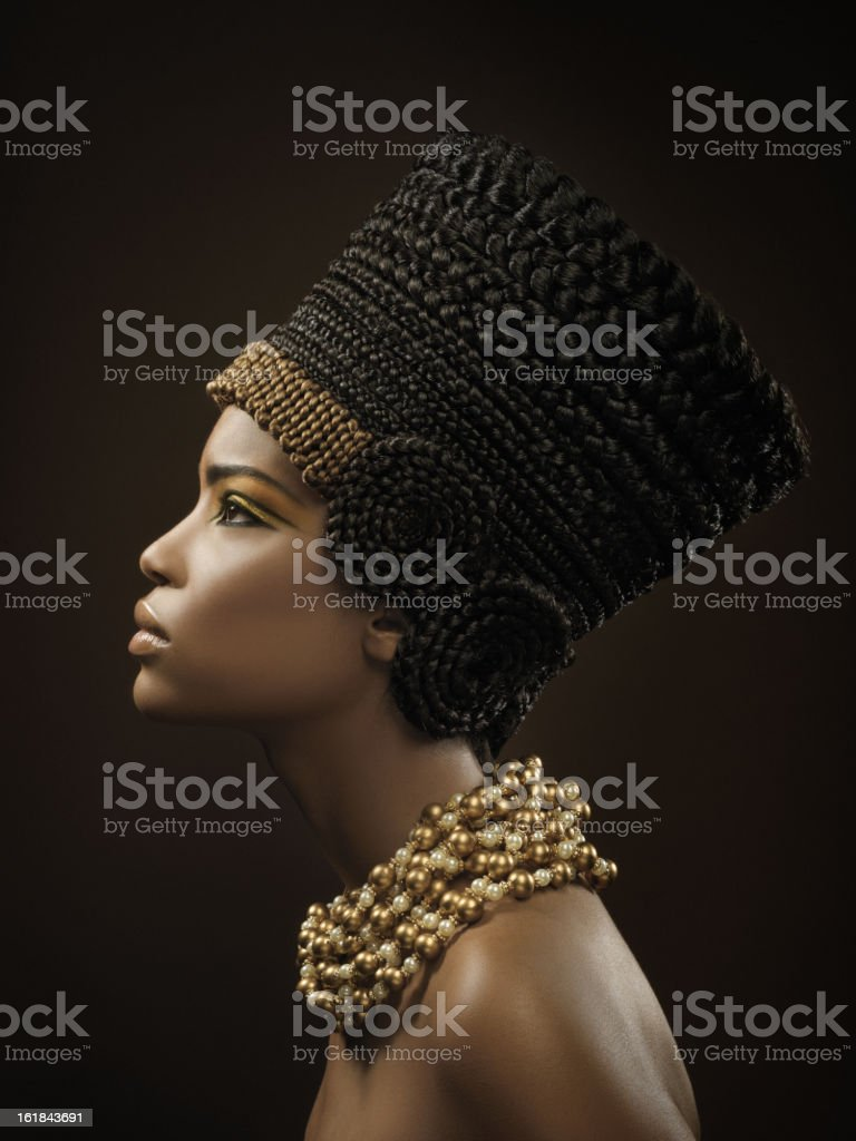 Nefertiti stock photo