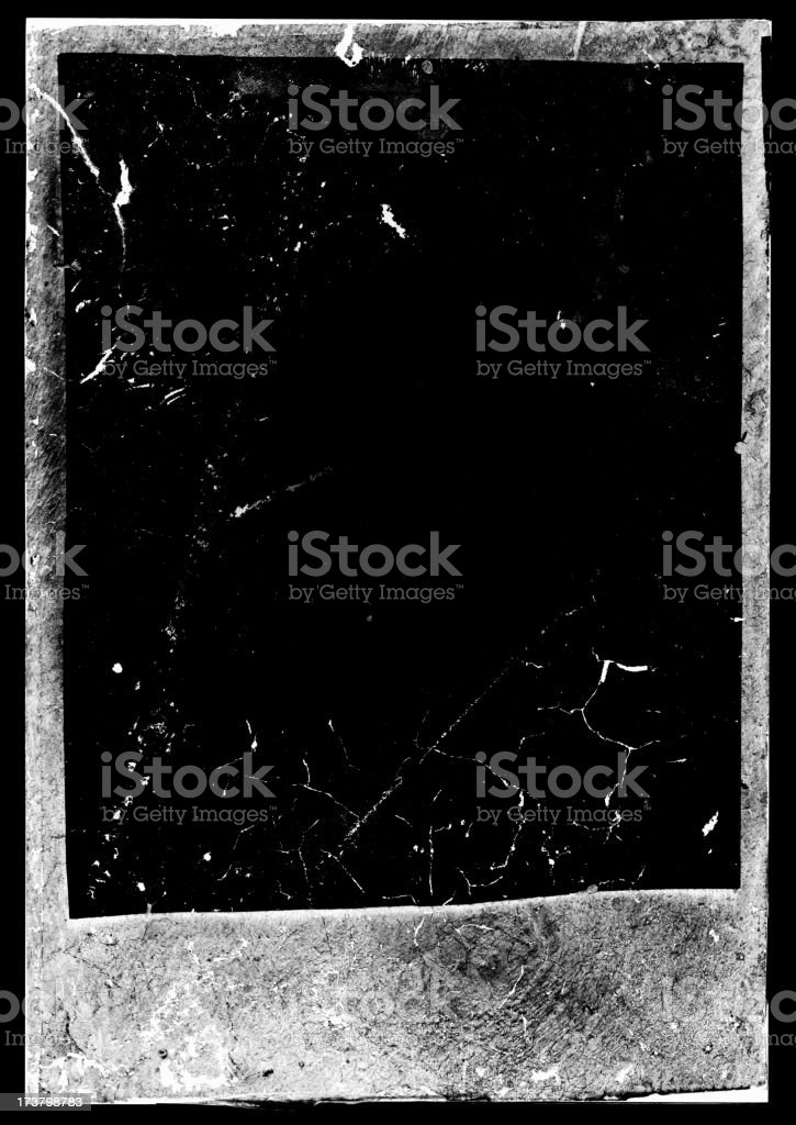 negative photo frame stock photo