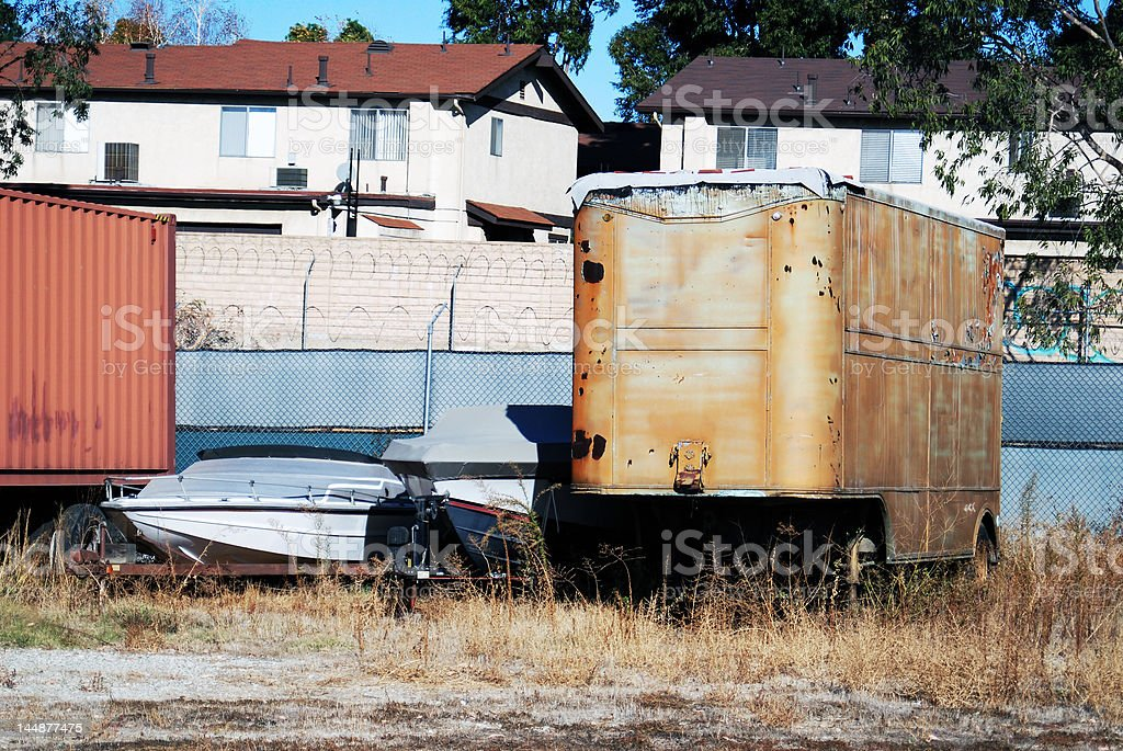 Neglected Equipment royalty-free stock photo