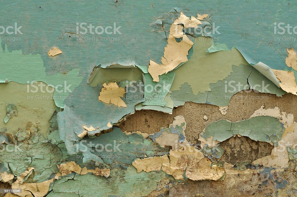 Neglected wall royalty-free stock photo