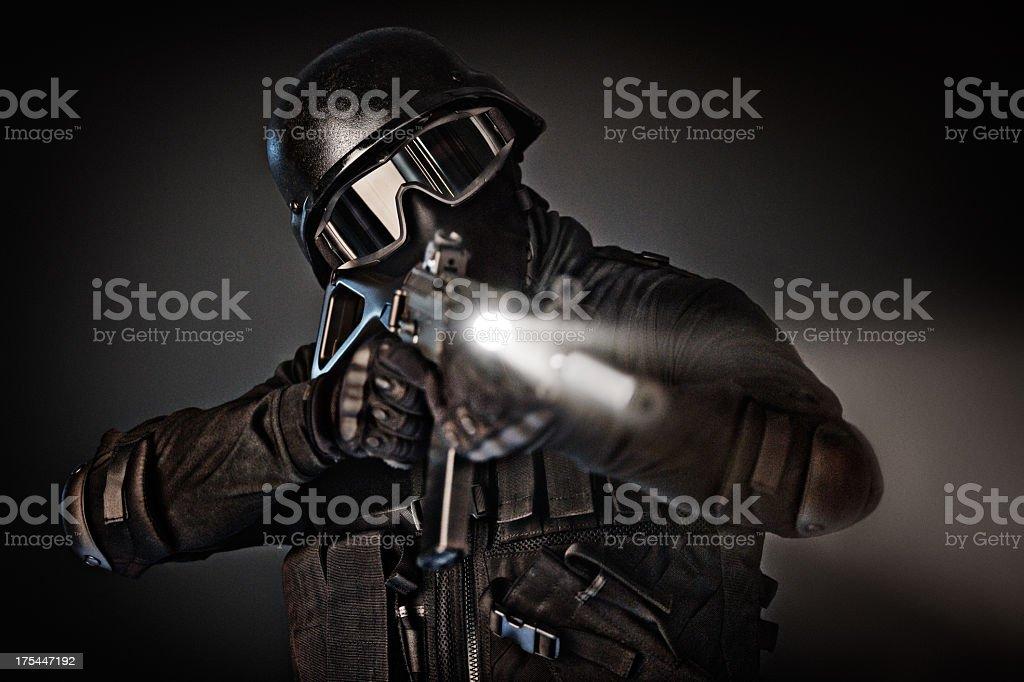 Negotiator stock photo