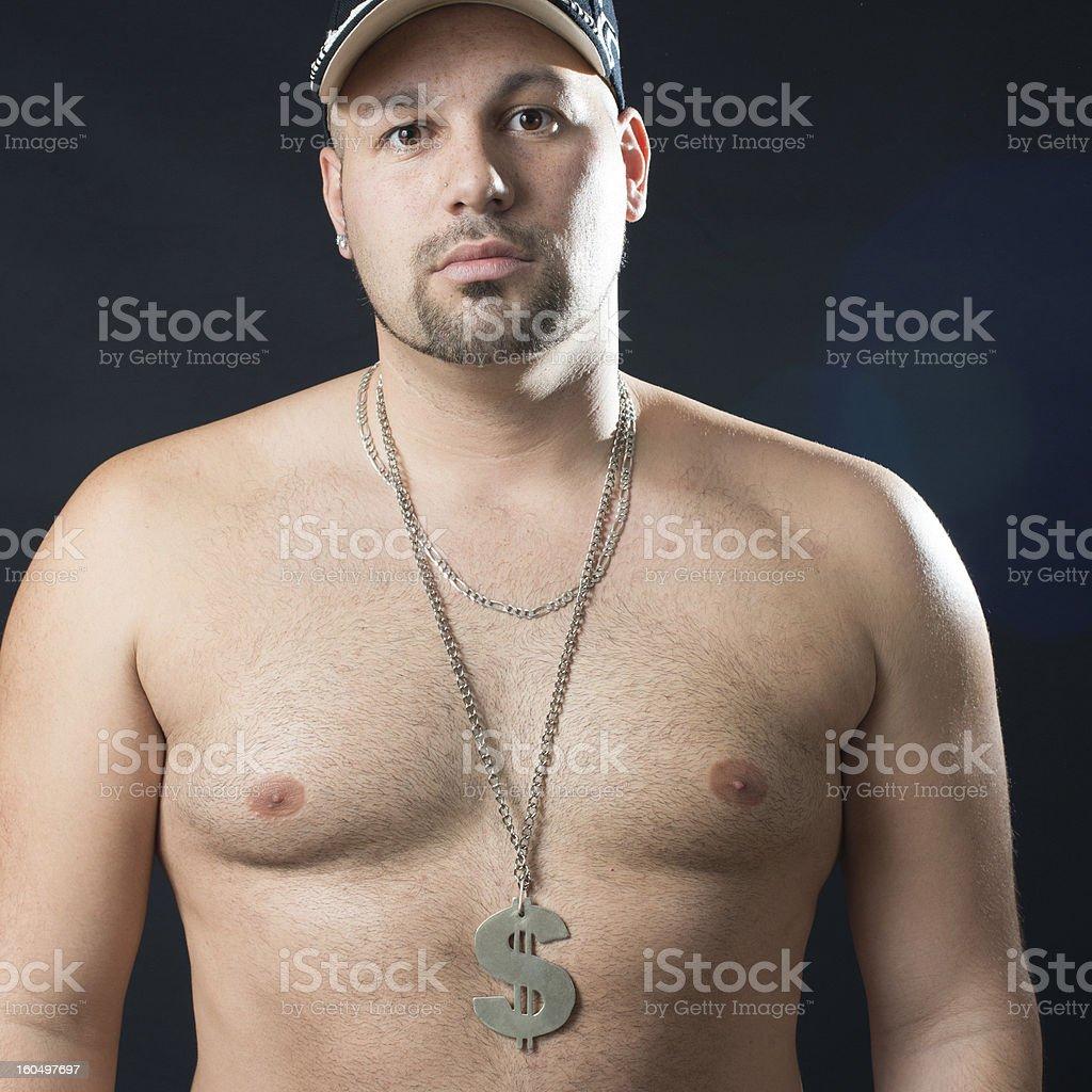 Neighborhood Guy royalty-free stock photo