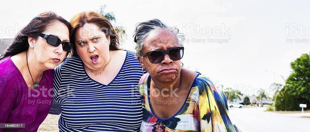 Neighborhood Outrage in Suburban Florida stock photo