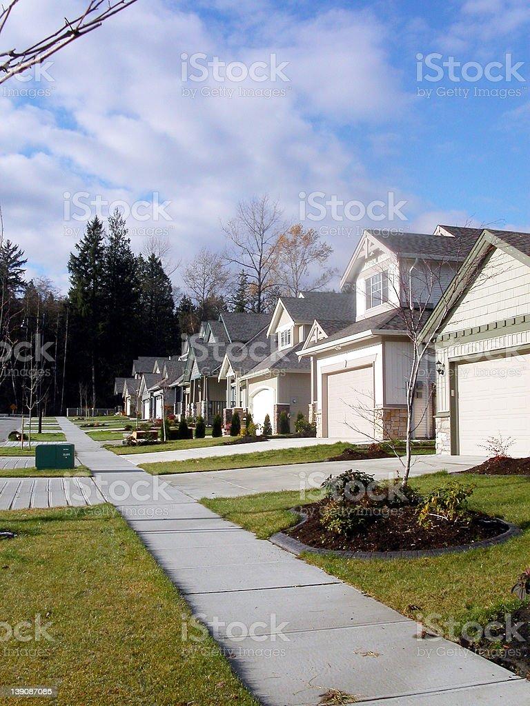 Neighborhood #1 royalty-free stock photo