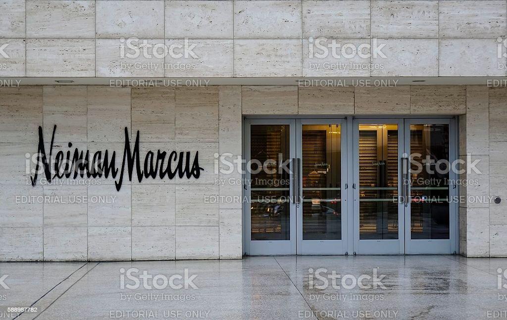Neiman Marcus Store, Las Vegas stock photo