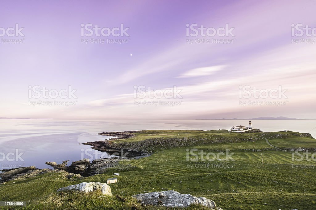 Neist Point at Isle of Skye stock photo
