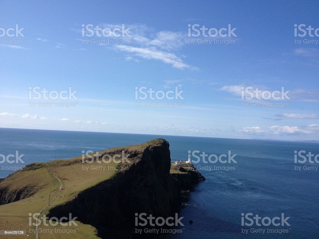 Neist Point, Isle of Skye stock photo