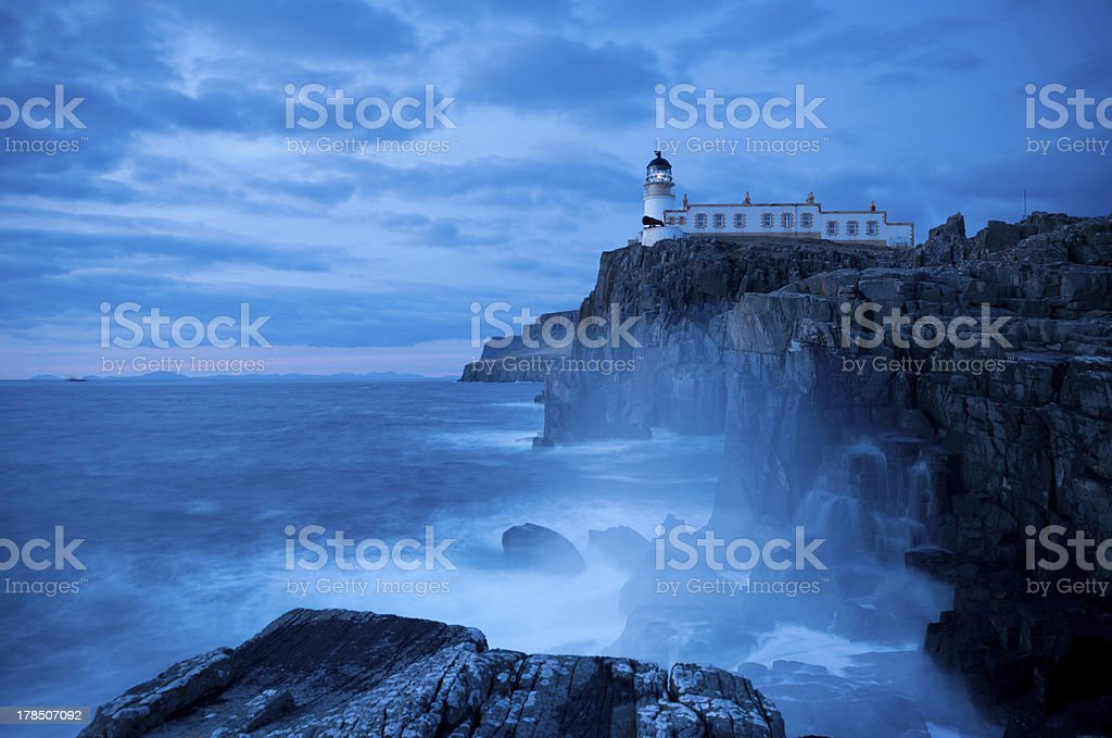 Neist Point Lighthouse stock photo