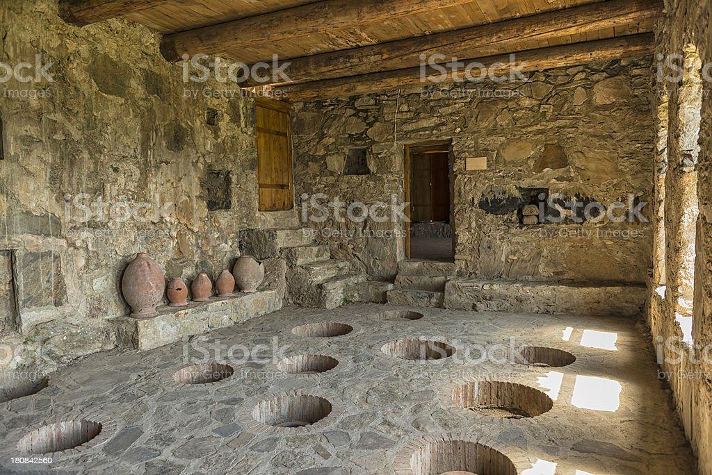 Nekresi monastery royalty-free stock photo
