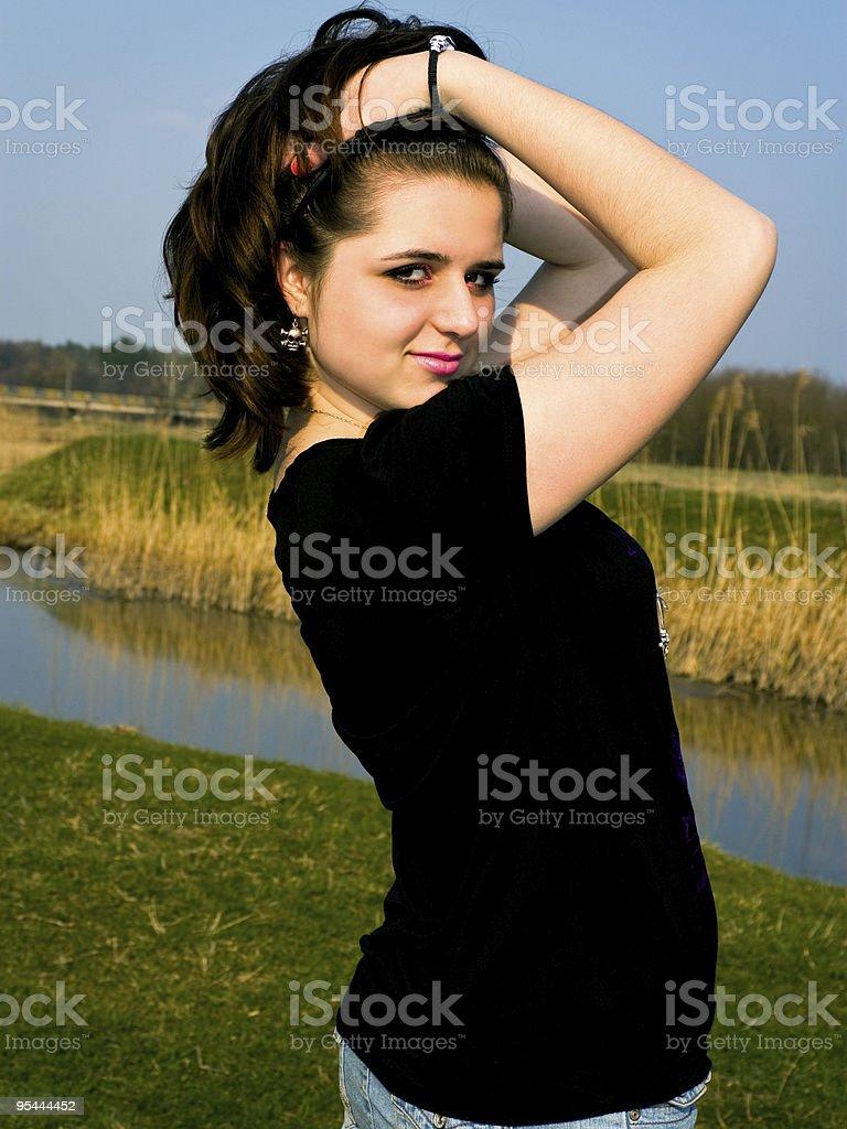 Nelia stock photo