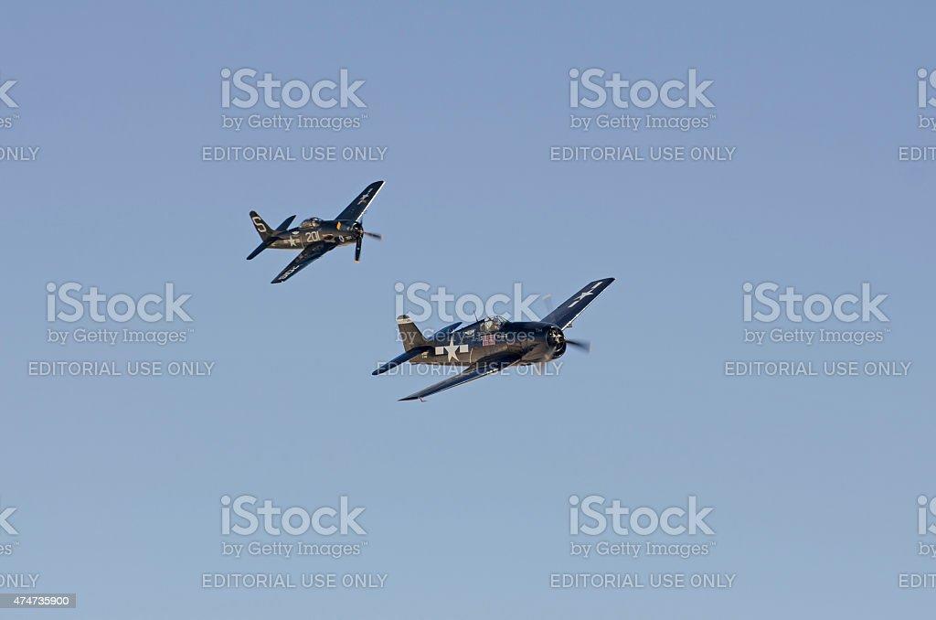 Nellis Air Force Base, Vegas stock photo