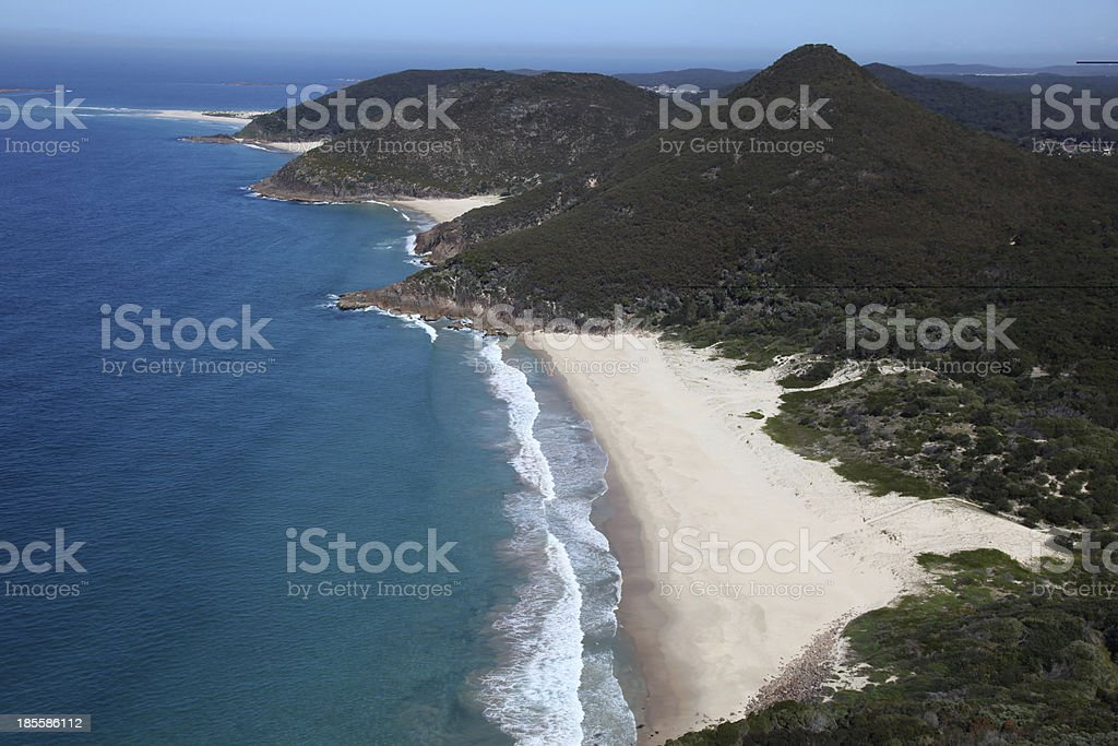 Nelson Bay - Australia royalty-free stock photo