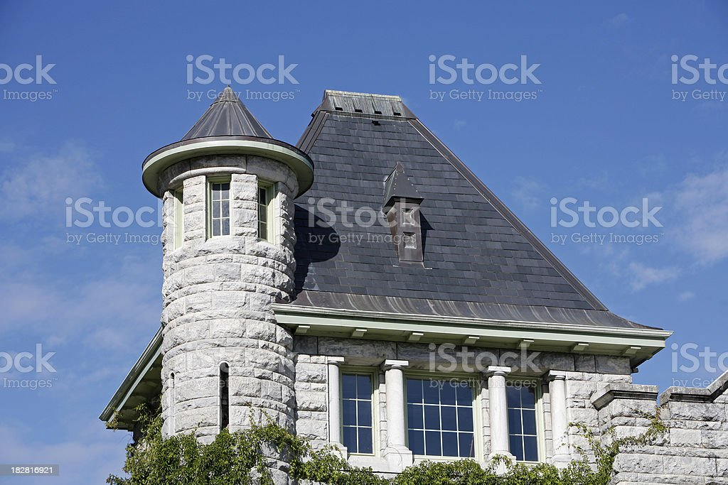 Nelson British Columbia Historic Court House stock photo