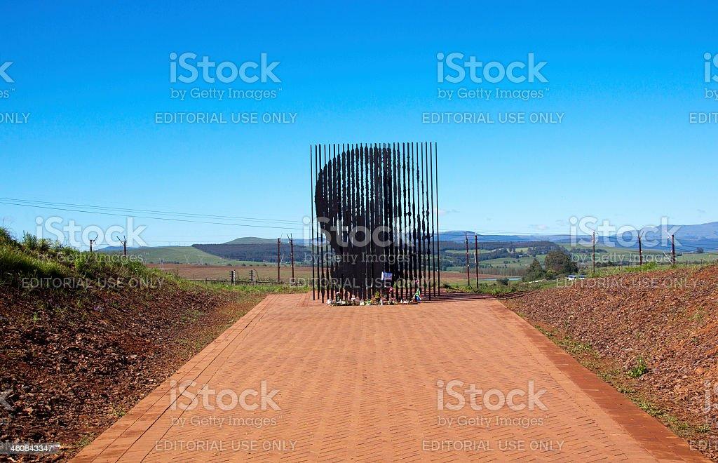 Nelson Mandela Capture Site In Howick, Kwazulu-natal stock photo