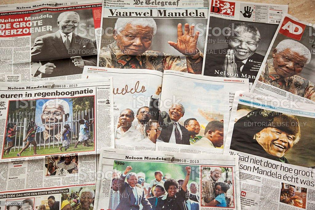 Nelson Mandela # 1 XXXL stock photo