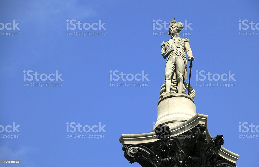 Nelson's Column stock photo