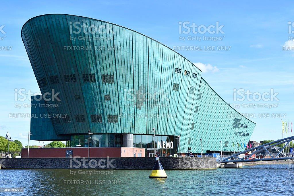 Nemo Museum Amsterdam stock photo