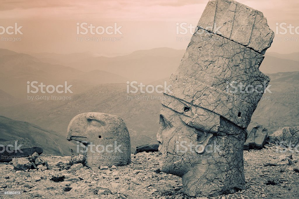 Nemrud Dagh stock photo