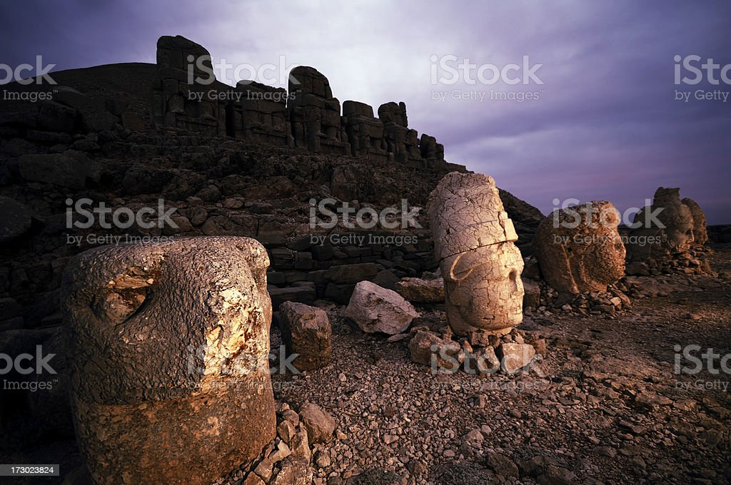 Nemrut, Adiyaman, Turkey stock photo