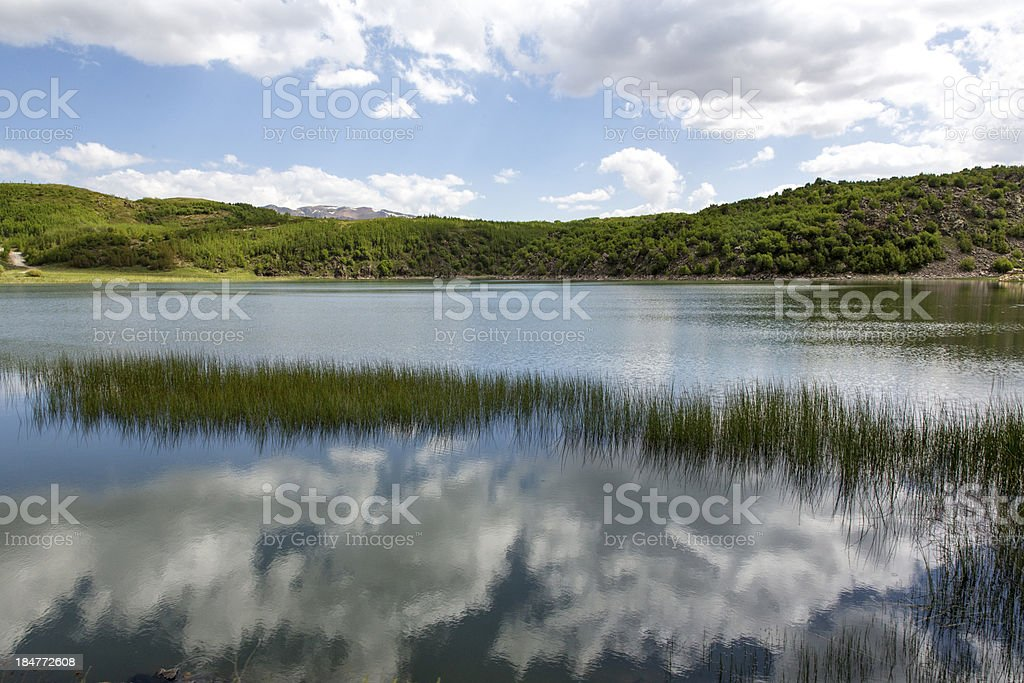 Nemrut Crater Lake stock photo