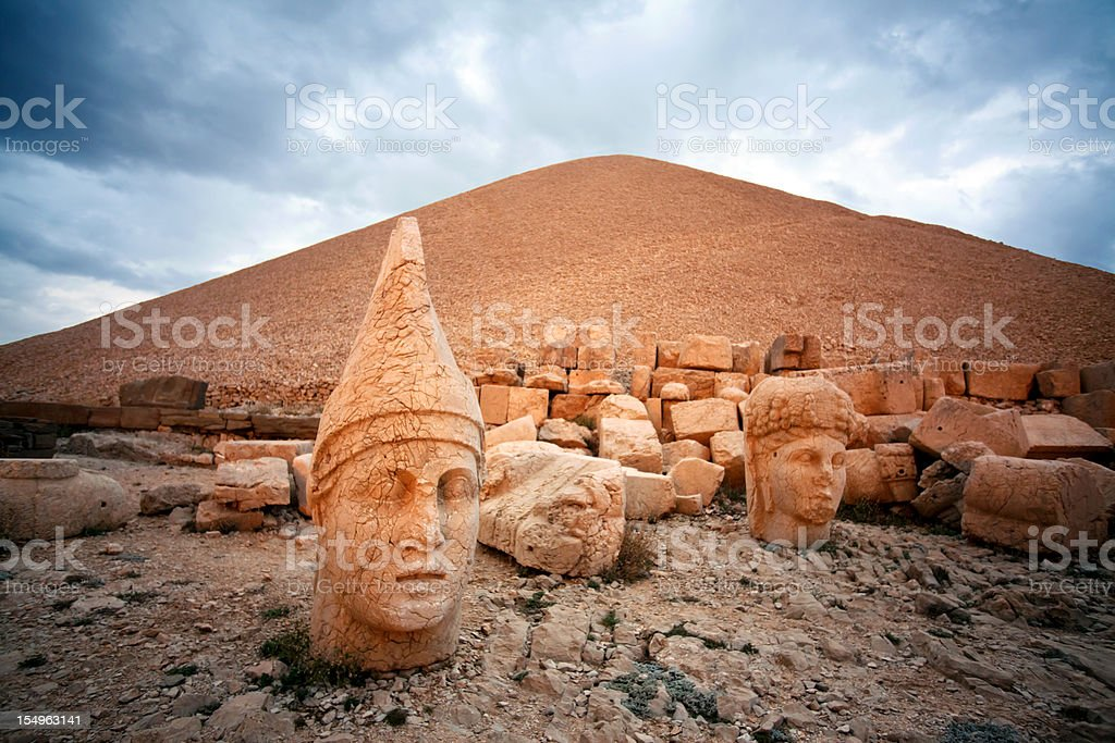 Nemrut stock photo