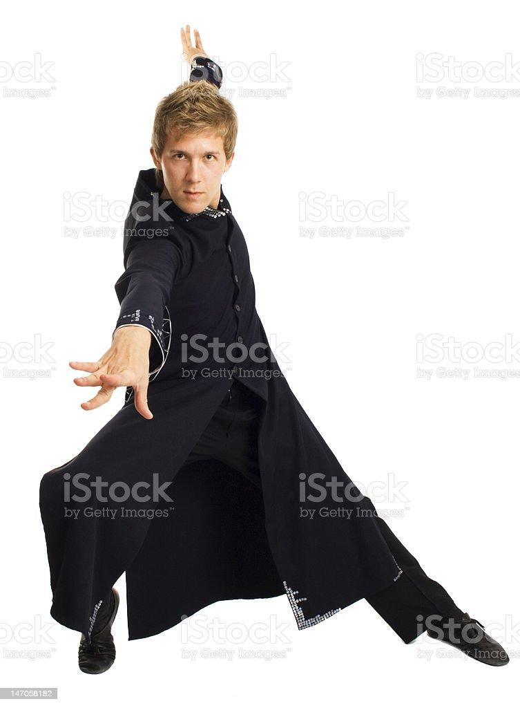 Neo from matrix stock photo