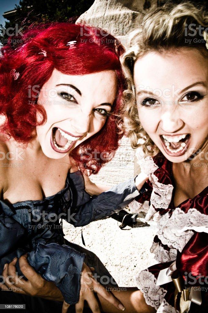 Neo-Baroque Punks royalty-free stock photo