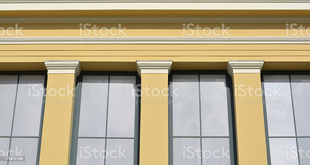 Neo-Classical Background royalty-free stock photo