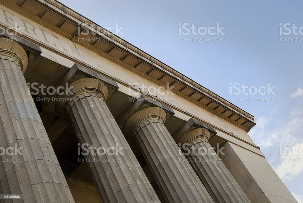 Neo-classical building royalty-free stock photo