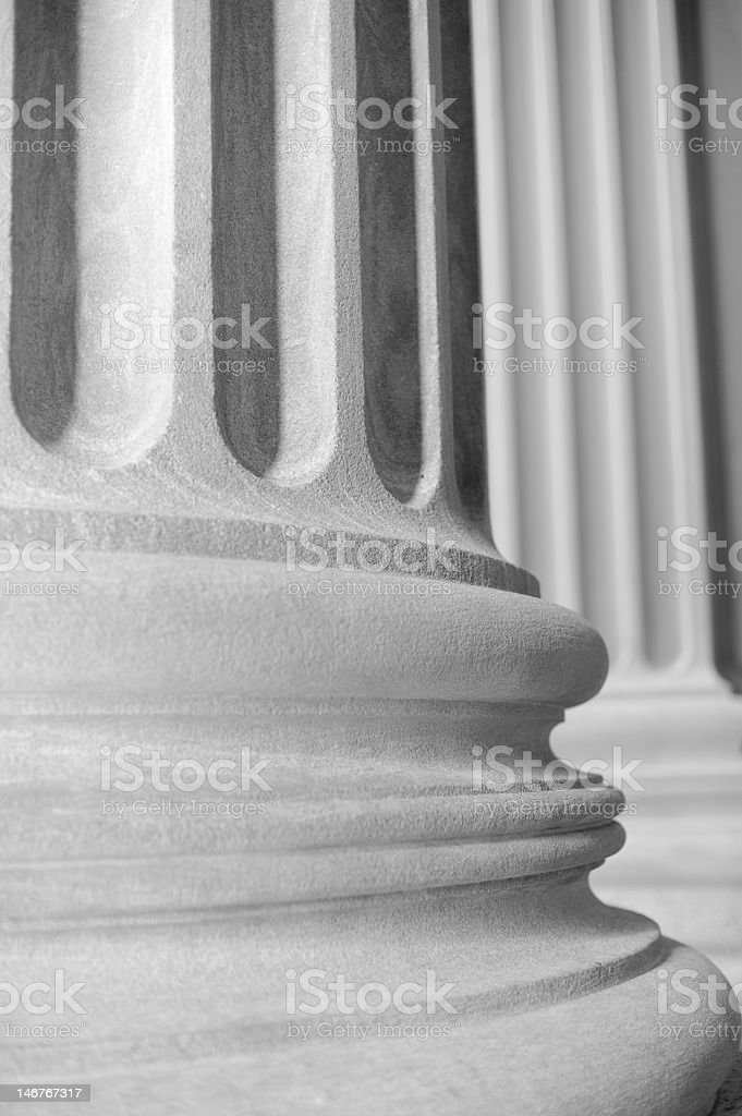 Neoclassical Column royalty-free stock photo