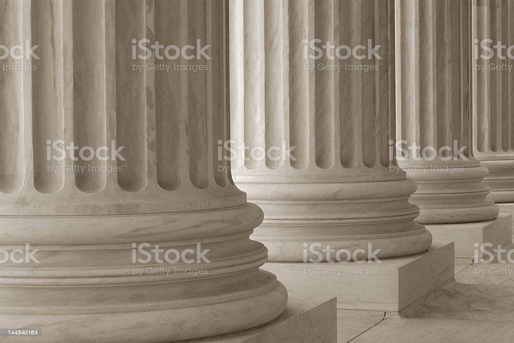 Neoclassical Columns stock photo