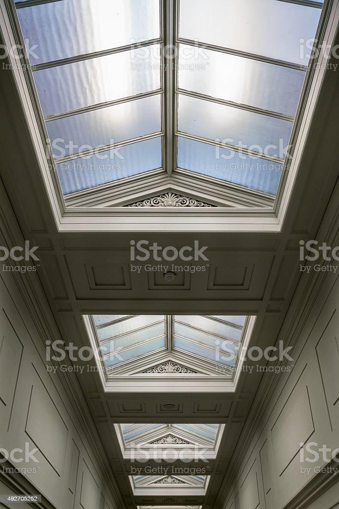 Neoclassical Corridor stock photo