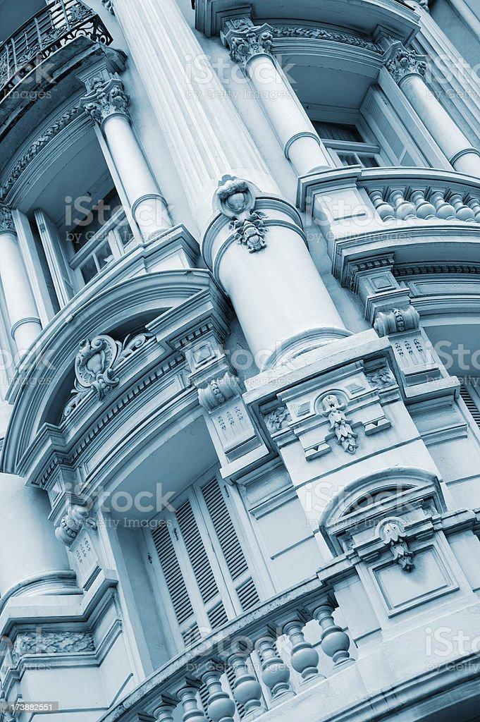 Neo-Classical Facade royalty-free stock photo
