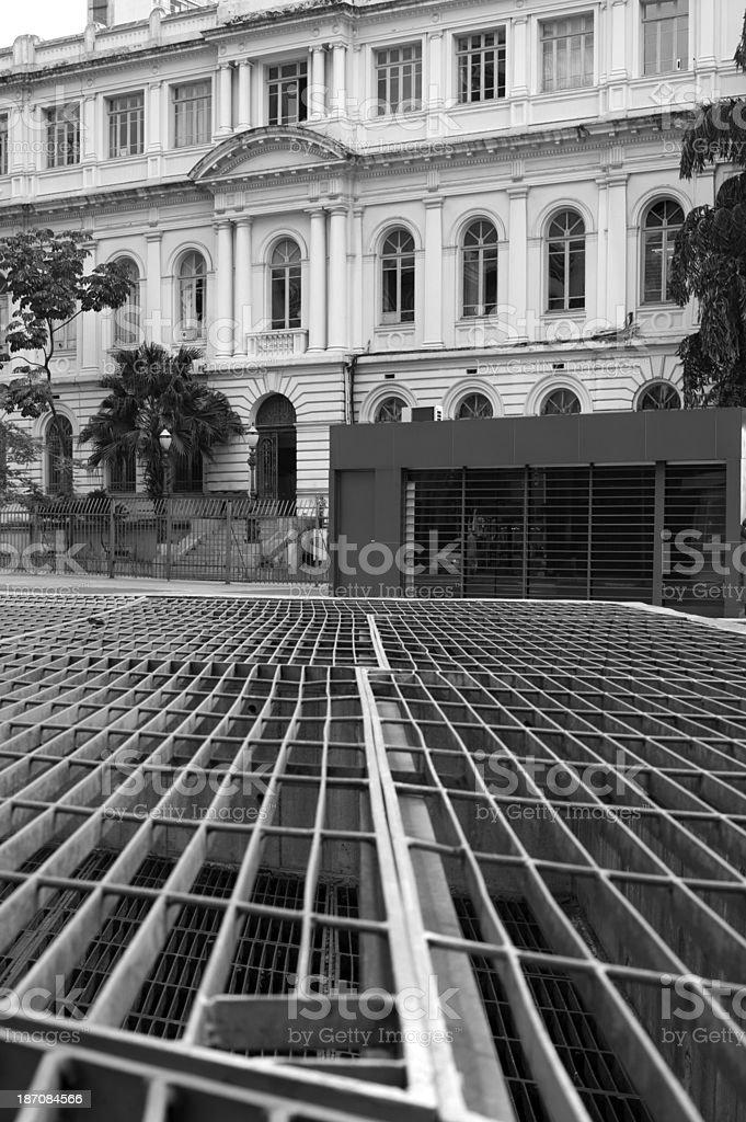 Neoclassical Facade stock photo