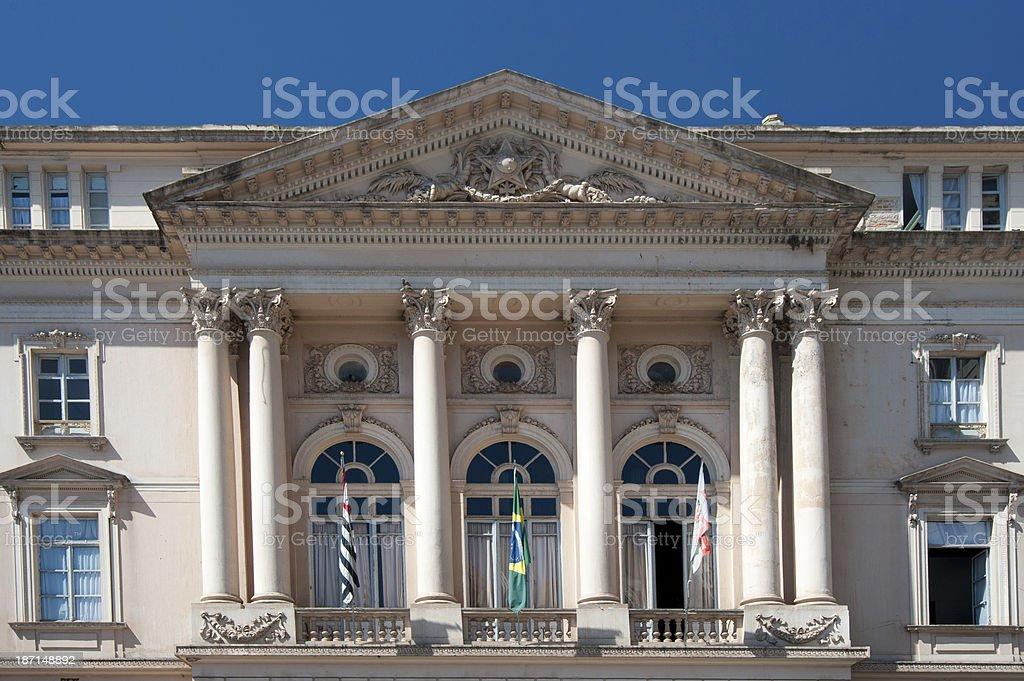 Neoclassical Facade royalty-free stock photo