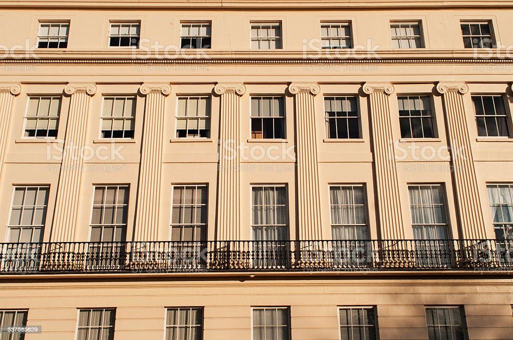 Neoclassical London stock photo