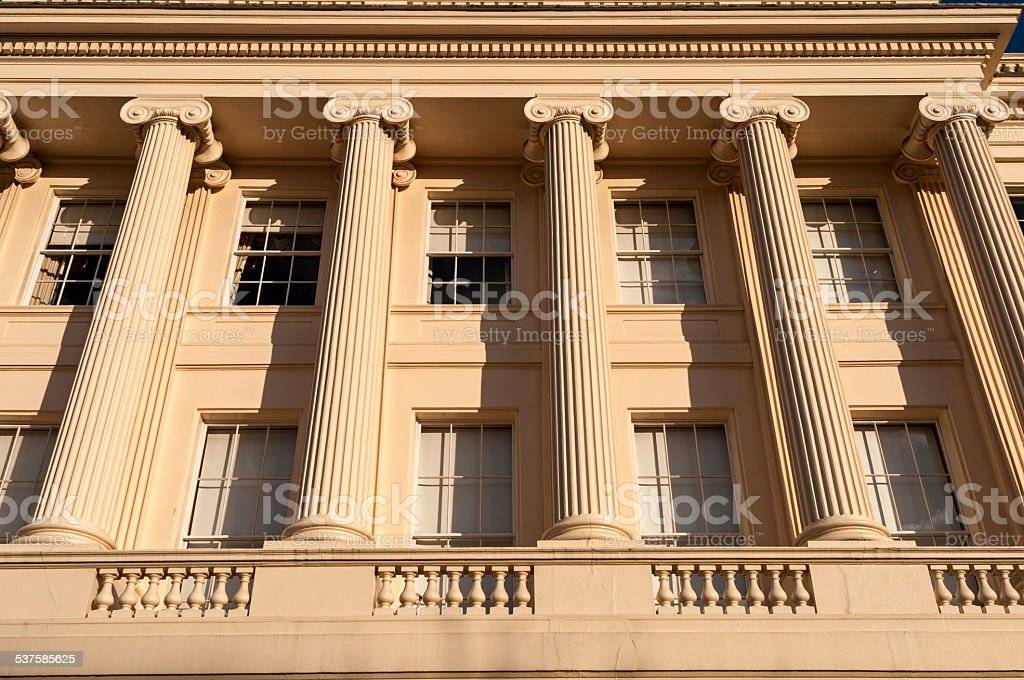 Neo-classical Residence stock photo