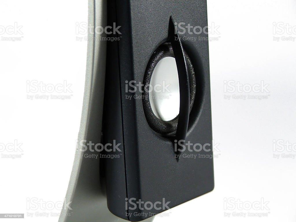Neodimium Mylar speaker stock photo