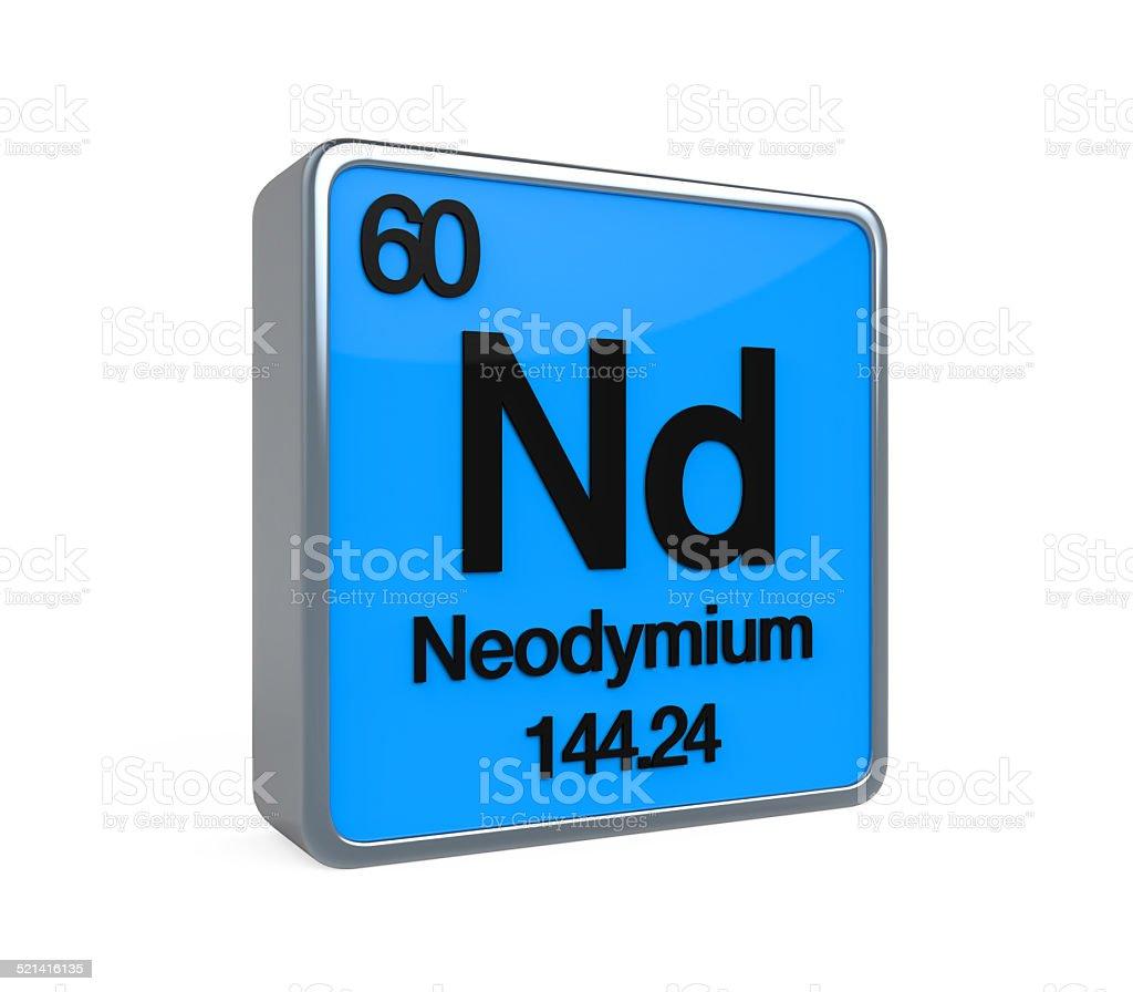 Neodymium element periodic table stock photo 521416135 istock neodymium element periodic table royalty free stock photo gamestrikefo Choice Image