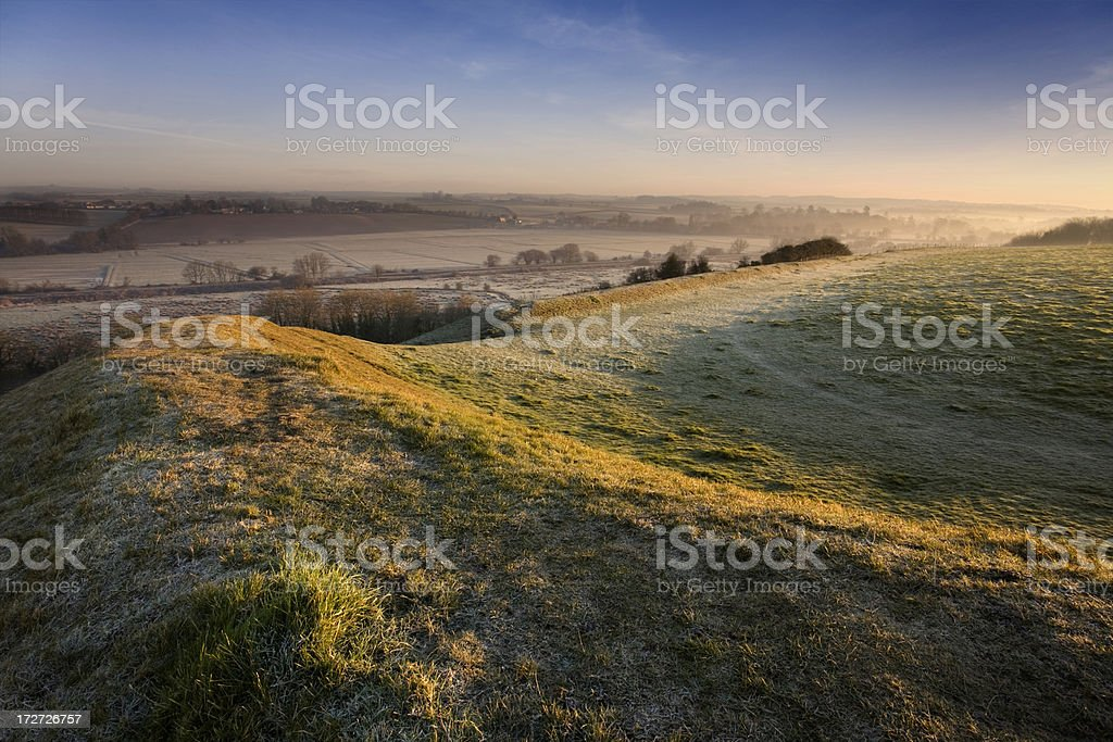 Neolithic Dawn royalty-free stock photo