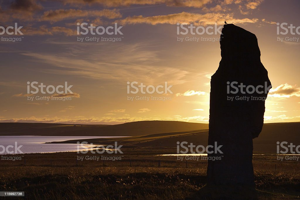 neolithic perch royalty-free stock photo