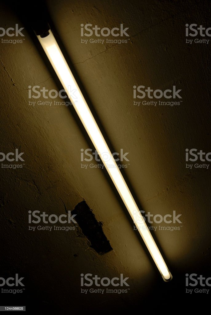 Neon Ceiling royalty-free stock photo