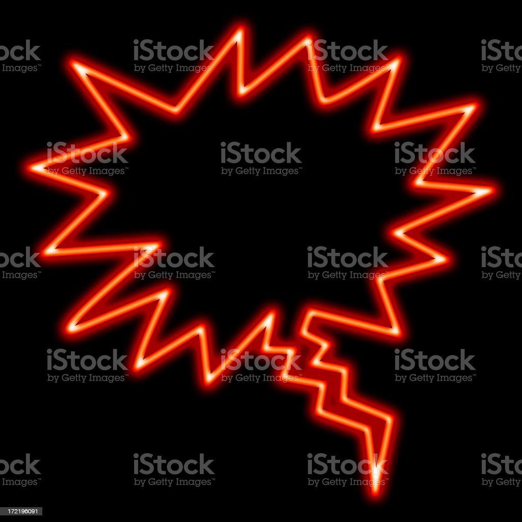 Neon exciting royalty-free stock photo