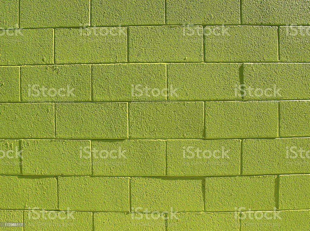 Neon Green Wall Background royalty-free stock photo