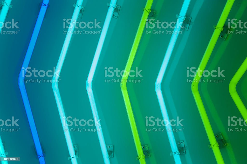 Neon lamps. stock photo
