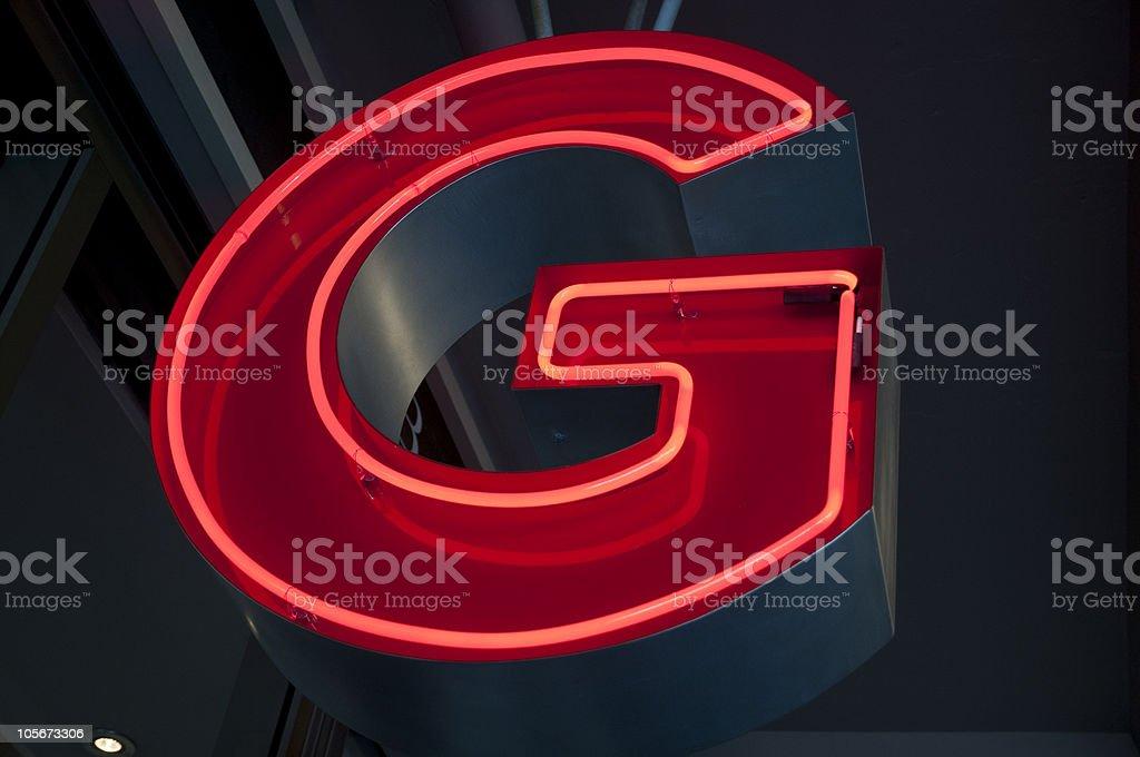 Neon stock photo